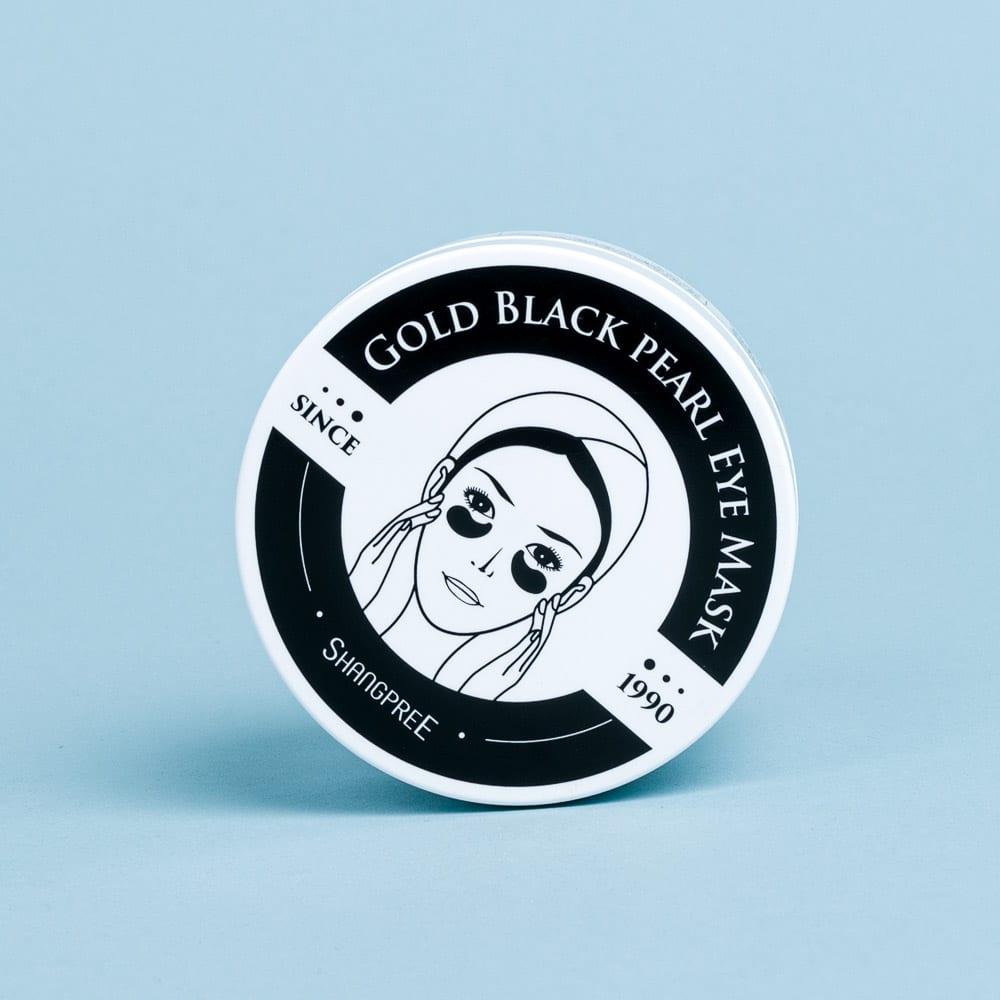 Shangpree - Gold Black Pearl Eye Mask - Fab Beauty Bar